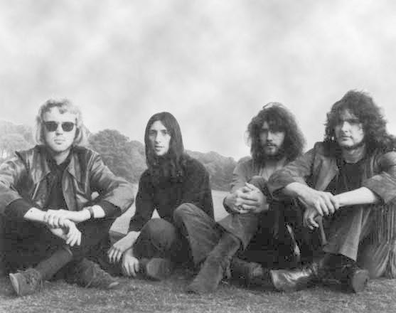O grupo em 1971