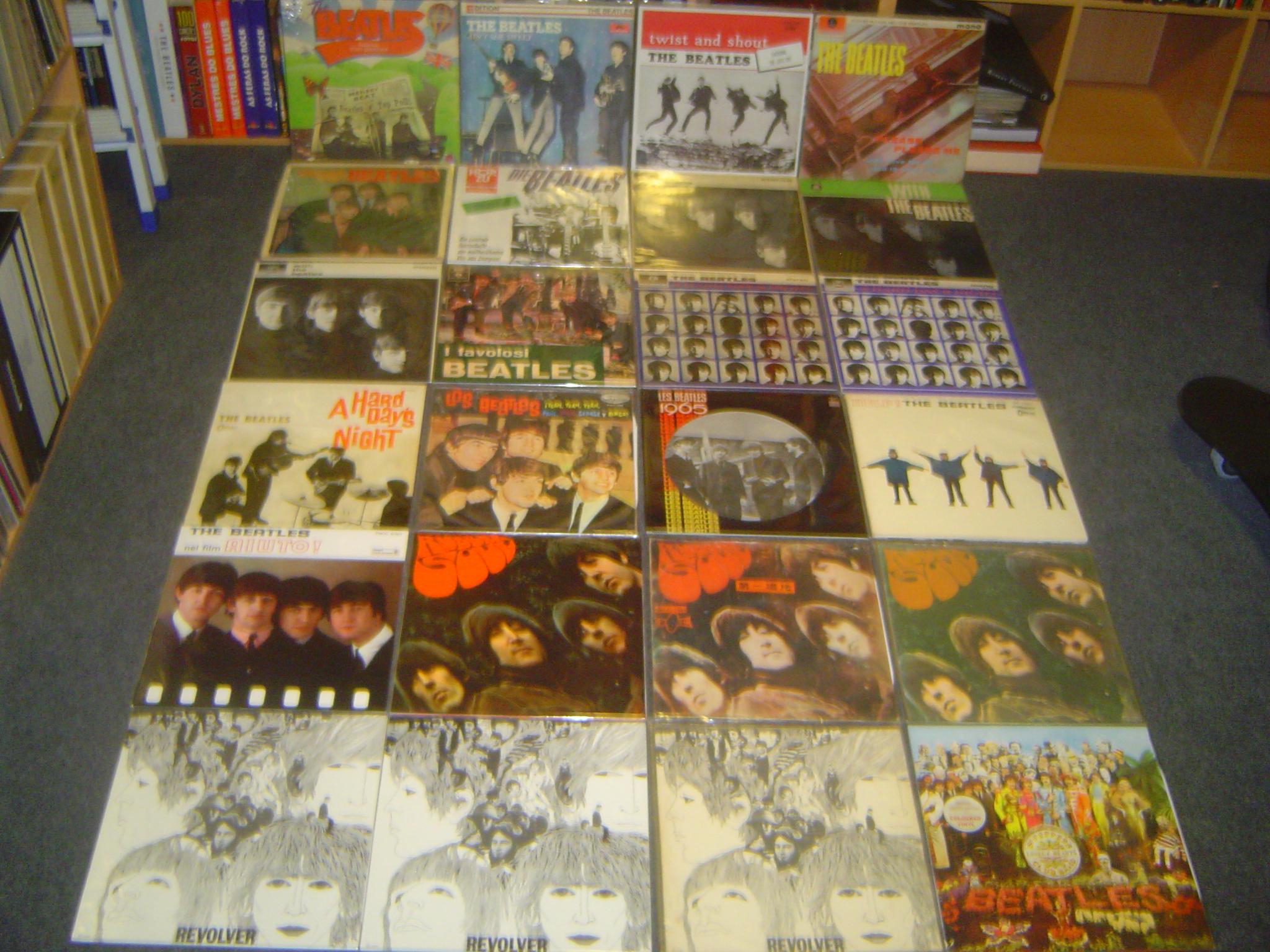 Parte da coleção dos The Beatles