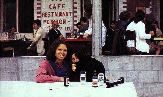 Jim e Pam em Paris: uma de suas últimas fotos juntos
