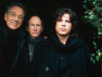 Ray Manzarek, Robbie Krieger e Ian Astbury