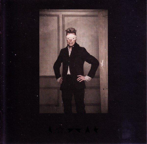 Bowie no encarte de ★