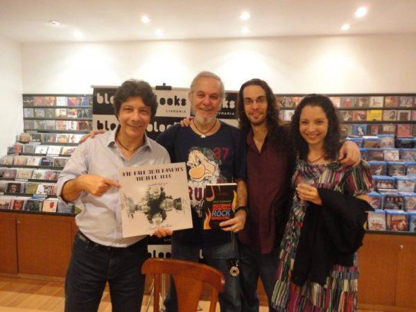 Com Daniel Romana, guitarrista do Módulo 1000